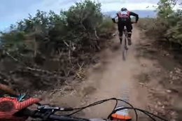 Video: Jesse Melamed Chases Remi Gauvin Down the Final Stage at EWS Trophy of Nations 2019