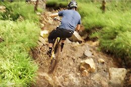 Video: Joe Barnes' New Bike Passes the Sloppy Rut Test