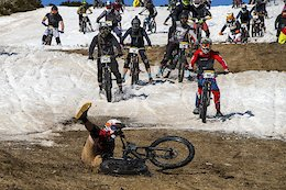 Video & Race Report: Chaos for 350 Riders in Australia's Only Mass Start Snow Race