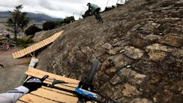 Video: Remy Metailler and Matt Walker Ride an Urban Downhill Race Course in Bogota