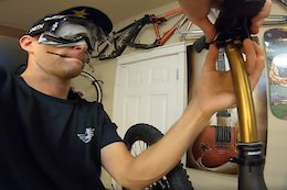 Video: Cam McCaul Builds Up His New Bike Blindfolded