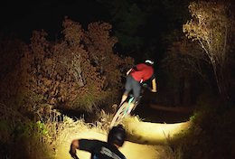 Video: Lighting Up the Trails for a Ride After Dark
