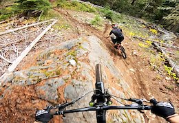 Video: Remy Metailler Follows World Cup Racer Kirk McDowall Down Mackenzie Cruise in Pemberton
