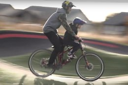 Video: Cam McCaul & His Daughters Having the Best Time on Bikes in 'Daddy Daughter Ride Day'