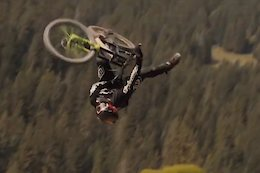 Video: Rob Welch Throwing Tricks and Taking Out Filmers in the Portes du Soleil