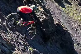 Video: Tackling Fully Natural Big Mountain Lines in 'Rampage Inverted'