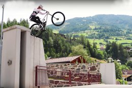 Video: Creative Riding from Fabio Wibmer's Cousin Gabriel in 'Late for School'