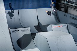 Video: First Hits at Red Bull's MASSIVE 'Uncontained' BMX Park Contest
