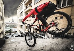 Must Watch: Fabio Wibmer Sends HUGE Gaps in Paris and Lyon for 'Urban Freeride Lives 3'