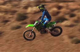Video: Bernard Kerr Starts Practicing on a SX Track and Receives Coaching from Jeremy McGrath