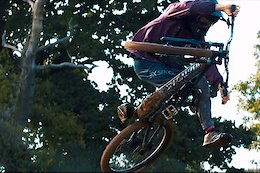 Video: Joel Anderson Hits a Field Full of Big Jumps on his eMTB