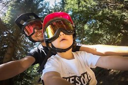 Video: Bike Park Laps in Morzine with a Mac Ride