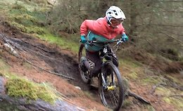 Video: Battering Skinny, Wet Ruts with Liam Moynihan and the Next Generation of Scottish Pinners