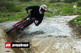 Video: Gaps, Manuals & More - Whistler Bike Park Shredding with Bas Van Steenbergen RAW