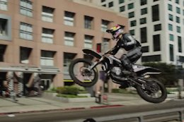 Video: Moto Freeride in Los Angeles with Robbie Maddison & Tyler Bereman