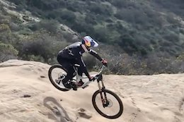 [Updated] Video: Aaron Gwin Teases New Downhill Bike