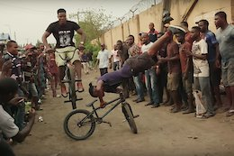 Video: BMXer Courage Adams Returns to Nigeria in 'Encouraged'