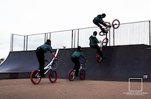 Sequence Pic of Ben doing Tweak Air Photo - Laurence CE