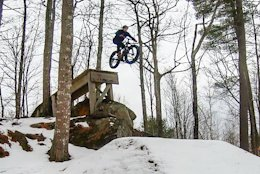 Video: Huge Hucks & High Speeds at Highland Mountain Bike Park in 'Not Your Average Fatbike Ride'