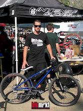 Chris Kovarik's BlkMrkt Mob4X spotted at Fontana