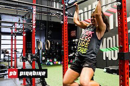 Video: Working Out with a Pro Mountain Biker - Remy Metailler Shows Christina Chappetta His Gym Routine