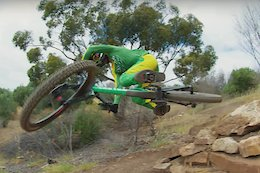 Video: Troy Brosnan Shreds His Home Trails