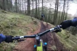 Video: Wild Riding in the Slop at the Scottish Universities Biking Social in Dundee