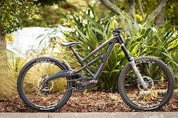 Bike Check: Tracey Hannah's Polygon XquareOne DH - Crankworx Rotorua 2020