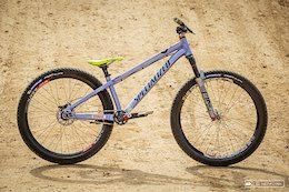 Bike Check: Nicholi Rogatkin's Specialized P3 - Crankworx Rotorua 2020
