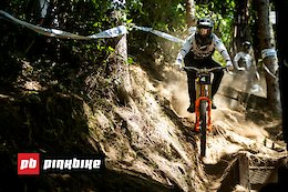 Video: 8 Minutes of Raw DH Racing from Crankworx Rotorua 2020