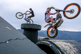 Video: Moto Trials vs Bicycle Trials in a Casual Game of B.I.K.E
