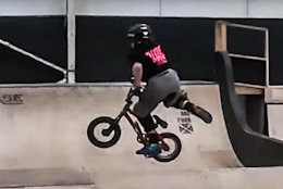Video: Flips & Tricks on All Sorts of Bikes in a Skatepark Session with 10-Year-Old Harry Schofield