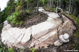 Video: A Mile of Continuous Rock on Quebec's New 'Slab City' Trail