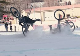 Video: Head to Head Snow Racing at the Ice Road Truckers Downhill Race