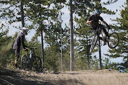 Video: Party Trains and Good Times at EVO Bike Park