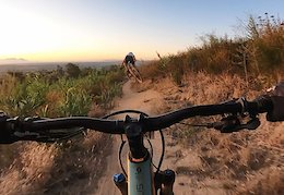 Video: Andrew Neethling Follows Nino Schurter on his Local Trails