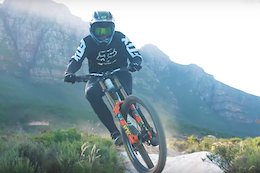 Video: Theo Erlangsen Rips a South African Downhill Track