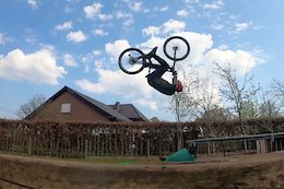 Video: Building and Riding a Backyard Lockdown Trials Course