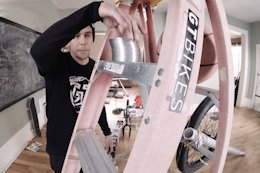 Video: Elaborate Quarantine Contraption from BMXer Tate Roskelley