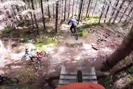 Video: Jesse Melamed POV Chasing Finn Iles & Remi Gauvin Down Mount Prevost Pre-Covid