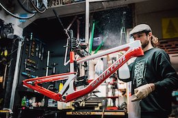 Video & Photo Story: A Custom Painted Santa Cruz Bronson Dream Build