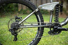 Bike Check: Isak Leivsson's Homemade Steel Downhill Bike
