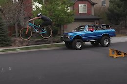Video: Cam McCaul & Dusty Wygle Face Off in a MTB & RC Long Jump Challenge