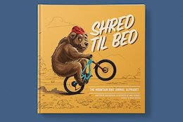 Shotgun Releases 'Shred Til Bed' - The MTB Alphabet Book For Kids