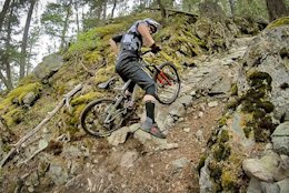 Video: Yoann Barelli Climbs Double Black Diamond Trail in Whistler