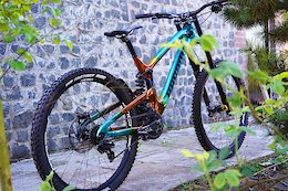 George Brannigan's Lousa, Maribor & Losinj Custom Painted Propain Rage Race Bike