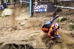 Video: 4 of Loic Bruni's Most Dramatic World Cup Crashes