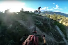 Video: Endless Jump Line at Sunset with Geoff Gulevich in Kamloops, BC