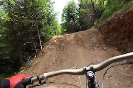 Video: Riding Fresh Trails, Hitting Big Jumps & New Bike Day with Rachel Atherton