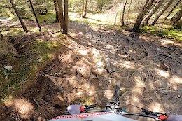 Video: Claudio Caluori's Bla Bla Run on Laax's Green Valley Trail